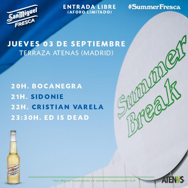 Summer Break Llega A Madrid