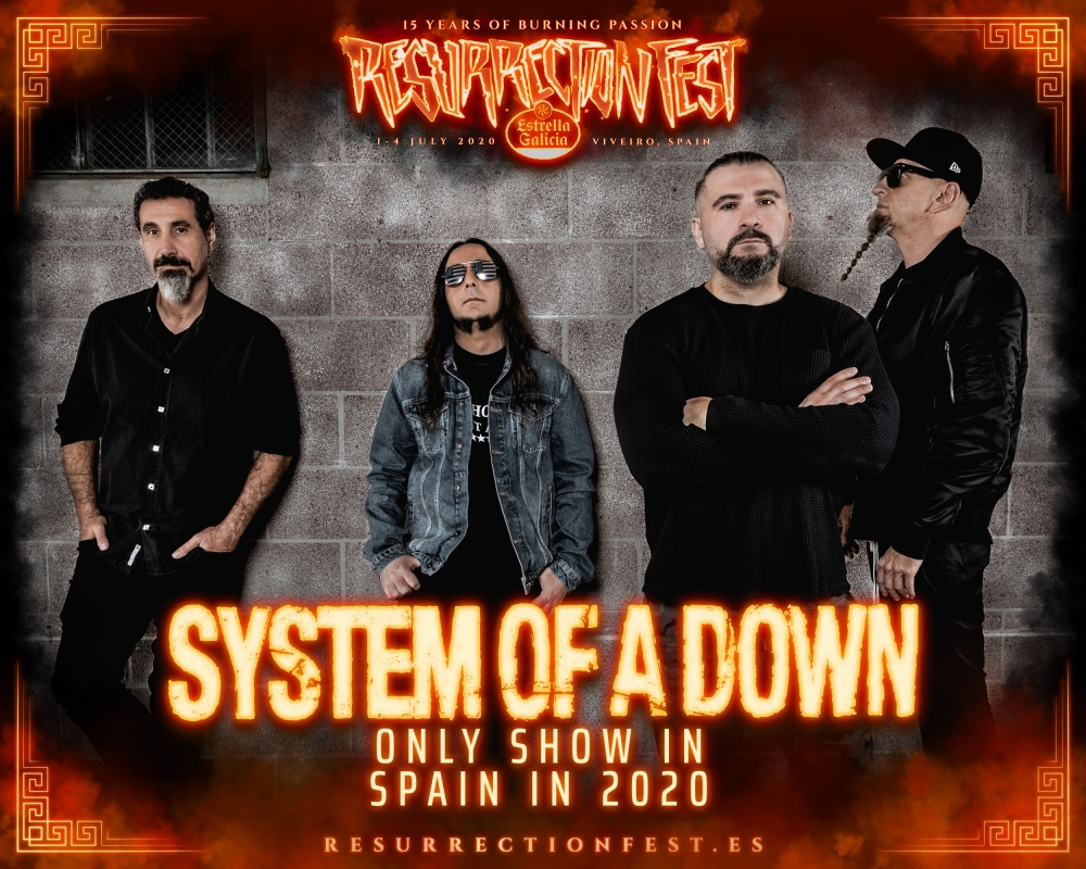 Resurrection-Fest-Estrella-Galicia-2020-System-of-a-Down-SOAD-Only-show
